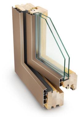 okna drewniano aluminiowe